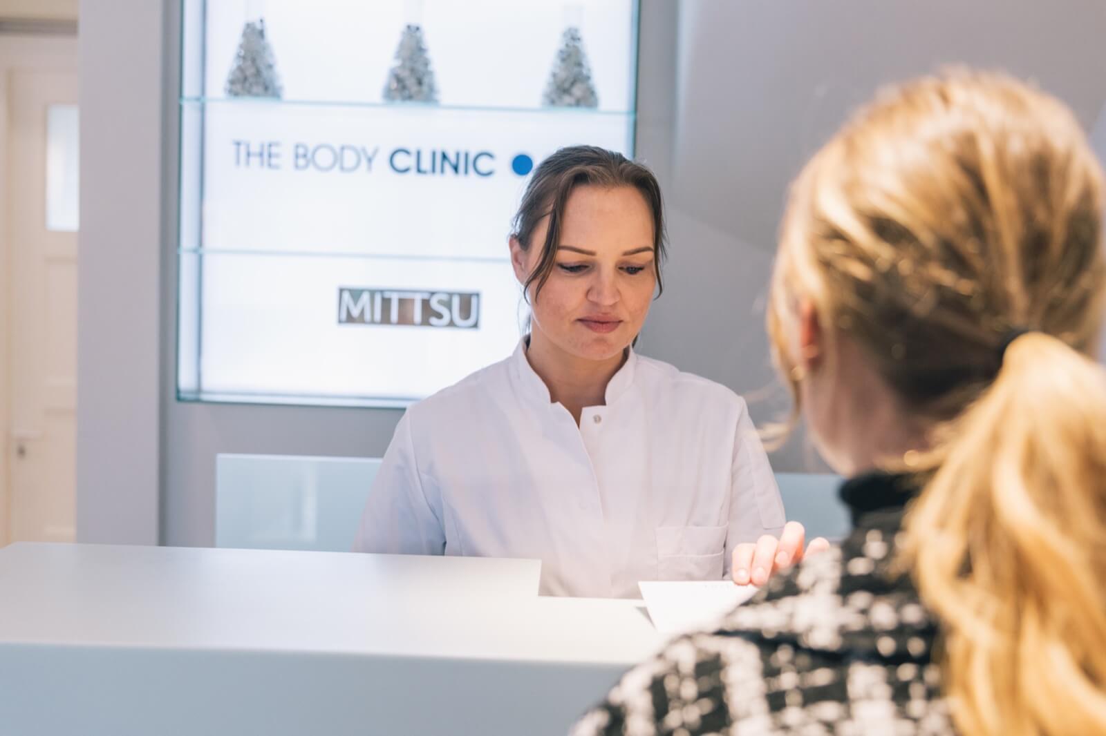 irene klein body clinic balie